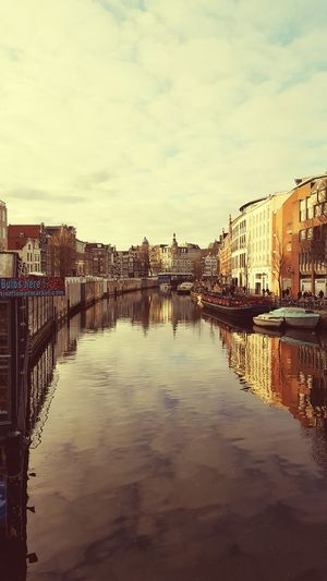 The beautiful city of Amsterdam... Water Day Cloud - Sky Sky