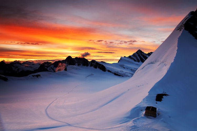 Canon Altitude Beauty In Nature Berner Oberland Day Glacier High Landscape Landscape_Collection Landscape_photography Mountain Nature Outdoors Scenics Sunset Sunset And Clouds  Sunset Collection Sunset_collection Swiss Swiss Alps Swiss Mountains Tranquility Trekking