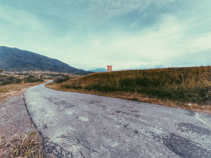 The road not always straight and flat, some bumpy road await for us ahead. Be ready Roadtrip at Beautifulborneo by Gansau