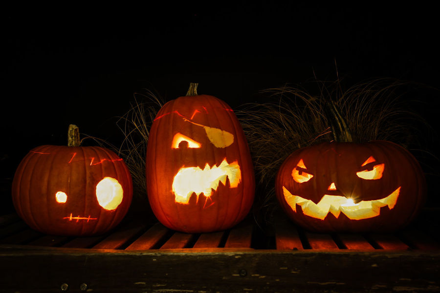 our Halloween Pumpkins huuuuhu!
