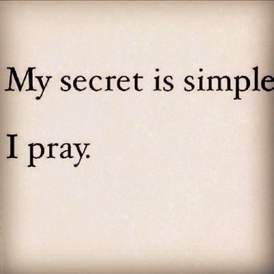 Prayer can move a mountain. Stay safe everyone~