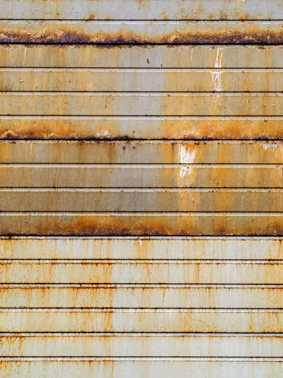 Full Frame Shot Of Rusty Metallic Wall