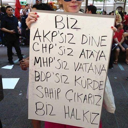 RTE Tayyip Türkiye Direngeziparki occupygezi taksim istanbul istiklal resist izmir ankara antalya akp chp mhp bdp