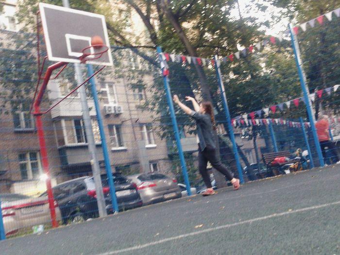 Streetball стритбол баскетбол Basketball L'été! ♥ Summer ☀ лето_в_городе