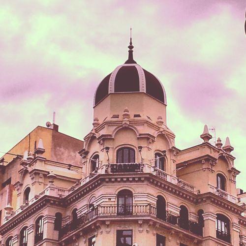 Architecture #architecture #arquitectura #madrid #edificios #sky #clouds