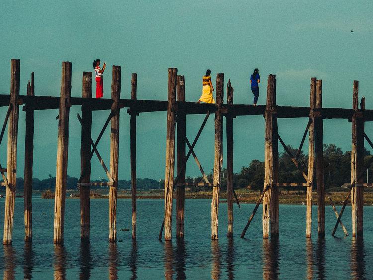 Architecture Bridge Built Structure Colors Landscape Travel Travel Photography Ubeinbridge Walking Water Women