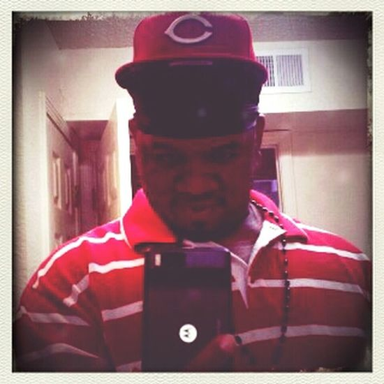 red all on my fuckin cap