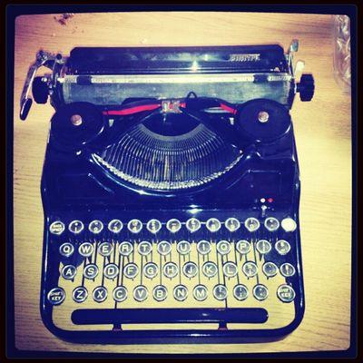 Vintage Simtype Typewriter