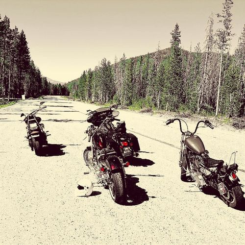 Openroads Stanleyidaho Motorcycles Roadtrip Journey Of Life Summertime Wind In My Face Idahome Idaho BoysOfSummer2016 Ride In Style