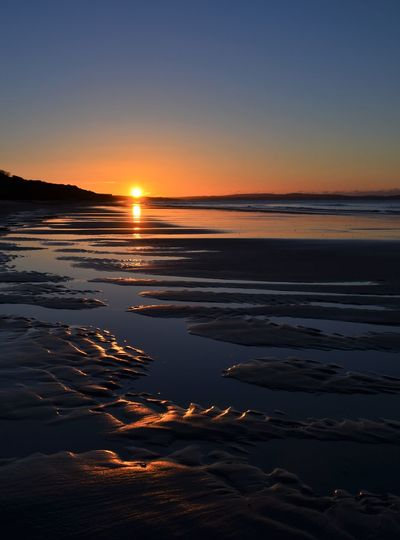 Highcliffe Beach Sunrise_sunsets_aroundworld Reflection Sunrise EyeEm Best Shots - Sunsets + Sunrise Landscape Beautiful