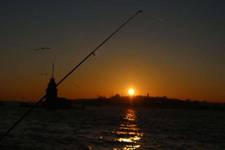 Istanbul Turkey EyeEm Best Shots Maidenstower Nofilter#noedit Martilar Hello World HagaSophia Sunset Photooftheday Sunset Silhouettes Relaxing Nature EyeEm Kizkulesi