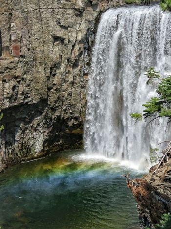 Beauty In Nature Day Falling Flowing Flowing Water Idyllic Motion Nature No People Outdoors Power In Nature Rainbow Rainbowfalls Rock Rock - Object Rock Formation Scenics Splashing Tourism Tranquil Scene Tranquility Travel Destinations Water Waterfall