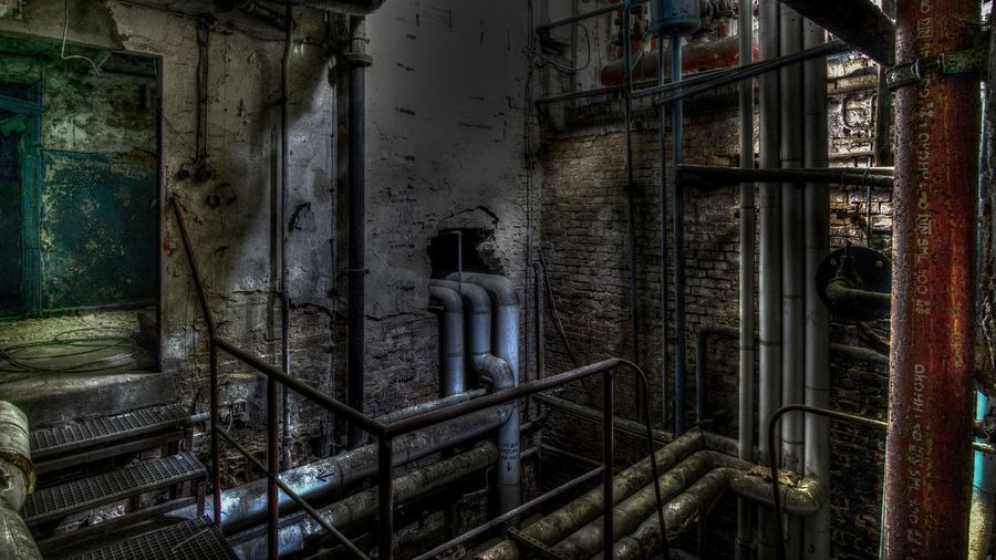 Cellar Kesselhaus Lostplaces Urbexer Abandoned Places Architecture Built Structure Metal Abandoned Building Indoors  Old
