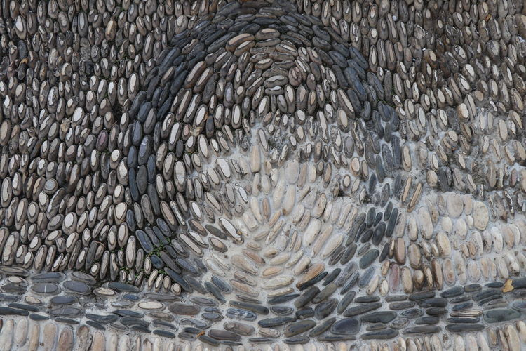 Floor stones Pattern No People Full Frame Solid Backgrounds Textured  Close-up Pebble Stone Stone - Object Large Group Of Objects Animal Themes Nature Gray Animal Day High Angle View Abstract Abundance Stone Material