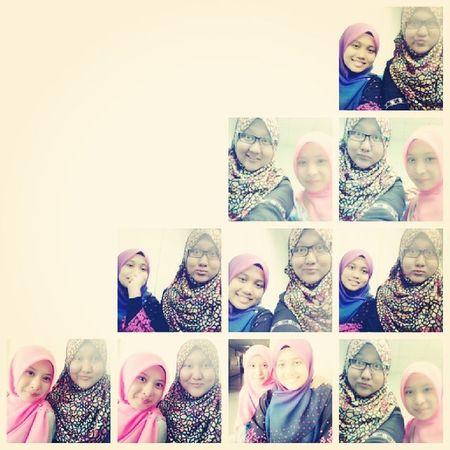 With my classmates ♥