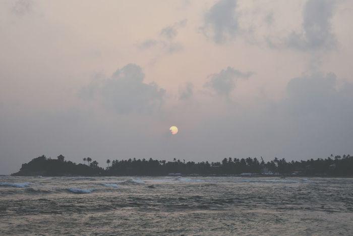 Unawatuna Sri Lanka Sunsetporn Nature Outdoors Sunset Tranquil Scene Sky No People Beach Sea Scenics