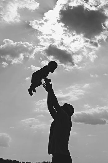 The Essence Of Summer Playtime Father & Son Summer Love Family Laughing