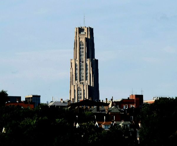 Cathedral Of Learning. Photo-J.R.Forsythe