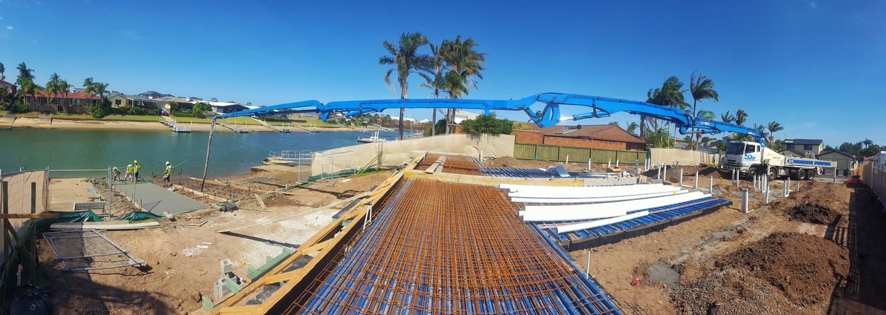 Just another day Australia Port Macquarie Concrete Concrete Pumping Sky Water Outdoors Day