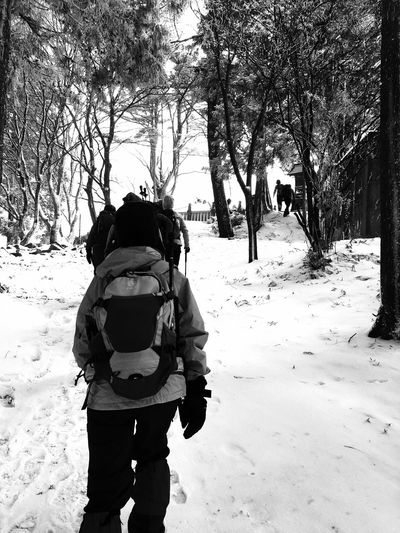 Snow Mountain Trekking Nature Love Trekking Girl 大川山