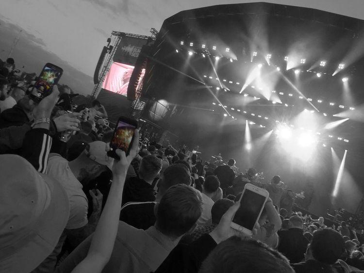 Arts Culture And Entertainment Crowd Fun Popular Music Concert Concert Illuminated First Eyeem Photo