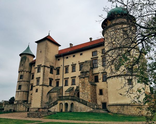 Castle Castles Nowy Wiśnicz Fortress Stronghold Building Old Buildings Historical Building Buildings