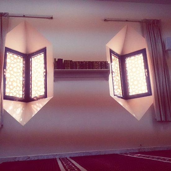 Hz339 Masjid Window Art Light And Shadow Nice Dubai City Of Art