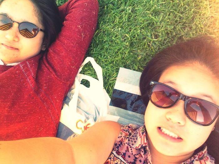 Friend Fun Grass