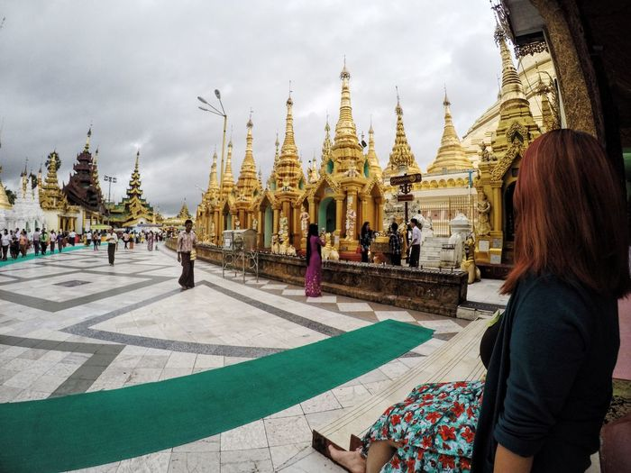 It's a must to come here in you travel to Myanmar Yangon Shwedagon Pagoda Pagoda Beautifuldestinations Temple Beautiful Magnificent View Spectacular Photography View