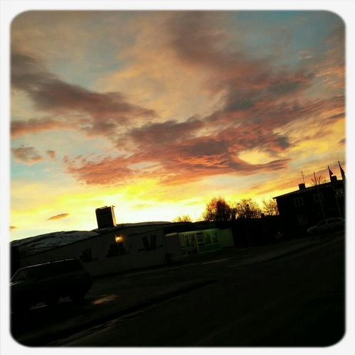Morning Sky Hello World Check This Out Beautifull In Iceland