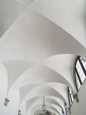 The Architect - 2017 EyeEm Awards Ceiling Architecture Indoors  Arch Modern Close-up Low Angle View Built Structure No People Church Background Texture Whitewashed Architecture EyeEm Selects Breathing Space