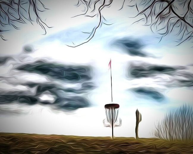 Disc Golf Course Disc Golf Basket TangledFX