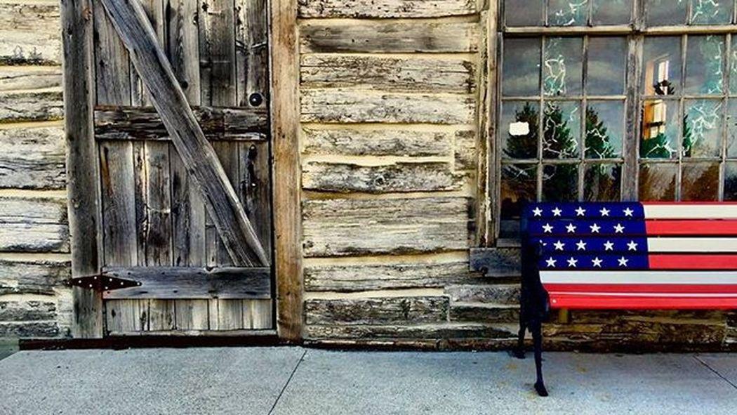 USA Flag Red White Blue Grandforks Nd