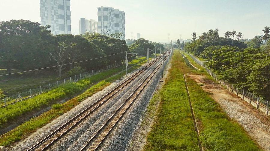 Railway Railroad Tracks Rail Road Railroad Love