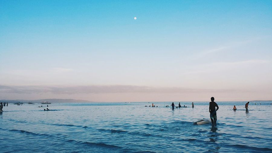 Full moon coming up. Beach Bohol Sunset The EyeEm Facebook Cover Challenge