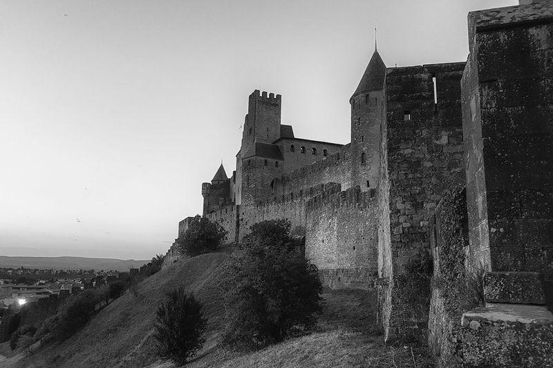 Carcassonne Carcassonne City MedievalTown Past Architecture Black And White Building Exterior Built Structure Castle History History Place Medieval Architecture Monochrome Outdoors Travel Destinations