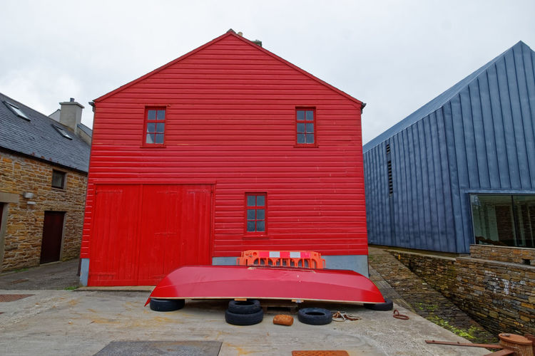 Stromness Harbour, Orkney Island, Scotland Cruise Ship Ferry Harbour Inter Island Ferries Architecture Art Gallery Boat Ramp Building Exterior Built Structure House Island Life Ring Nature No People North Sea Port Post Office Red Red Tin Tourism Town Travel Destinations
