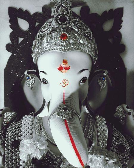 Lord Ganesha GaneshChaturthi Ganeshfestival Beautiful Culture Raja Mumbai Mumbaikar Like4like First Eyeem Photo