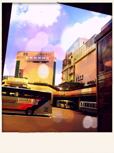 Waiting Hello World ジリジリ ダラダラ IPhoneography Landscape