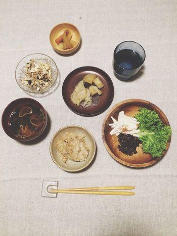 Japanese Food Vegan Vegetables