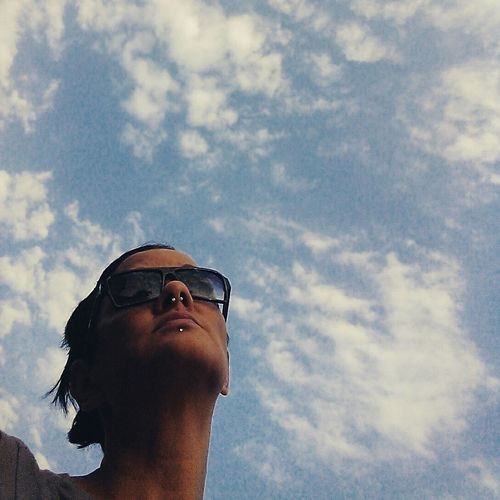 That's Me Enjoying Life Summer Clouds And Sky