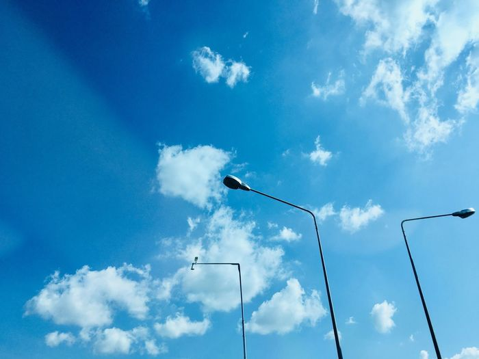 street lamp and