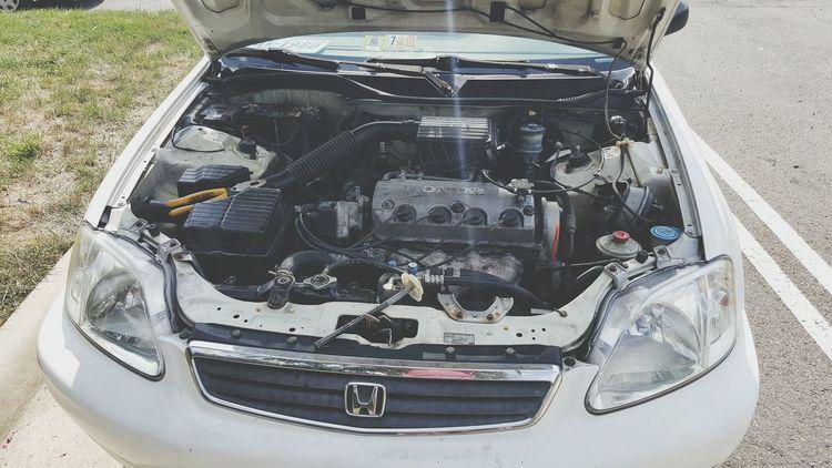 The baby is sick Honda Civic Lx