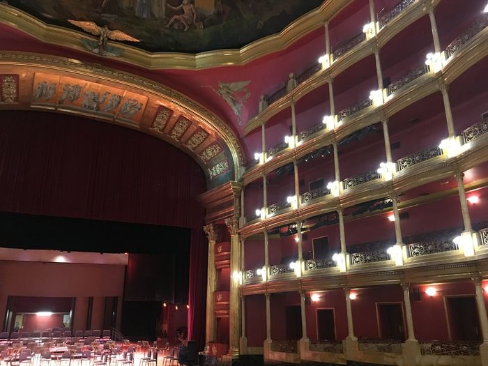 Teatro Degollado Jalisco Soledad Belleza Arte Opéra Auditorium Velvet Musical Theater  Stage Theater Broadway - Manhattan Baroque Style Classical Concert Orchestra Opera House Royalty Chandelier Movie Theater Stage Set Theater Entertainment Building Dresden - Germany Many Museum