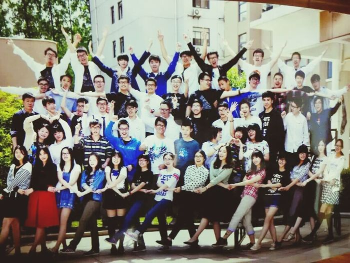 we are going to graduate. Shanghai, China 向明 XM Xiangming Graduate