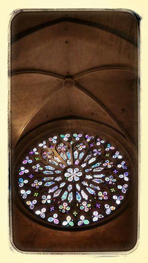 Rosette of the Monastery of Sant Cugat