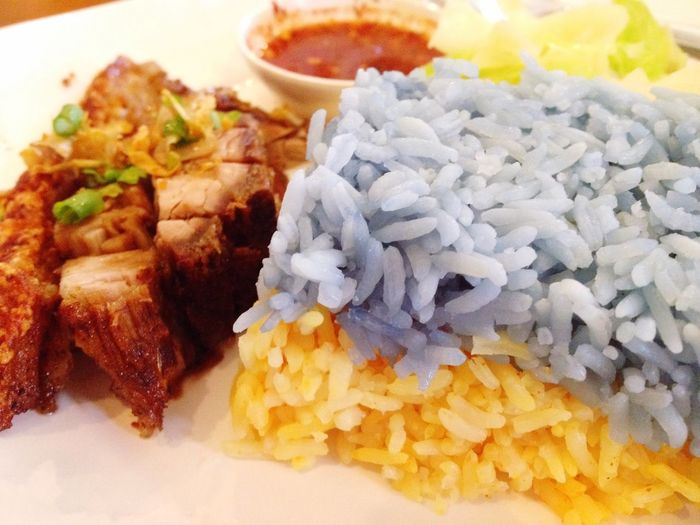 Rice Rice Crispy Pork Crake Riceworld Turmeric  Chiangmai Delicious Thai Thailand