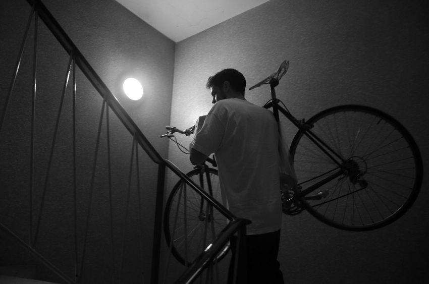 Bike Blackandwhite Cycle Fixed