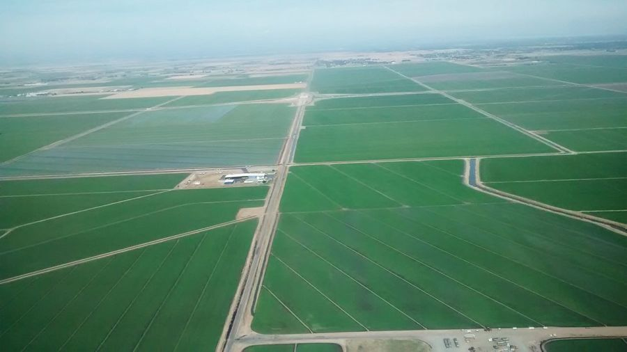 Farm Field AirPlane ✈ Taking Photos Travel