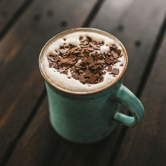 Kaffee Kaffeepause Kaffeetasse Kakao Schokolade Schaum Süßes Heißgetränk Lecker Getränk